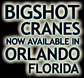 Big Shot Camera Cranes available in Orlando